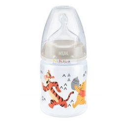 NUK First Choice 0-6m+ cumisüveg, 150 ml-es - Tigris és Micimackó