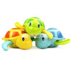 Fürdőjáték, vidám, mozgó teknősbéka