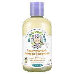 Lansinoh EFB organikus mandarinos sampon és tusfürdő 250 ml