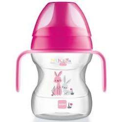 Mam Learn to Drink Cup 190ml ivópohár rózsaszín