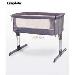 Caretero Sleep2Gether babaágy - graphite