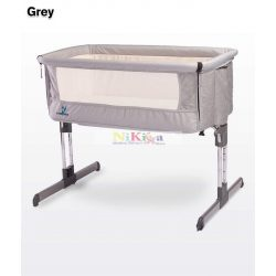 Caretero Sleep2Gether babaágy - grey