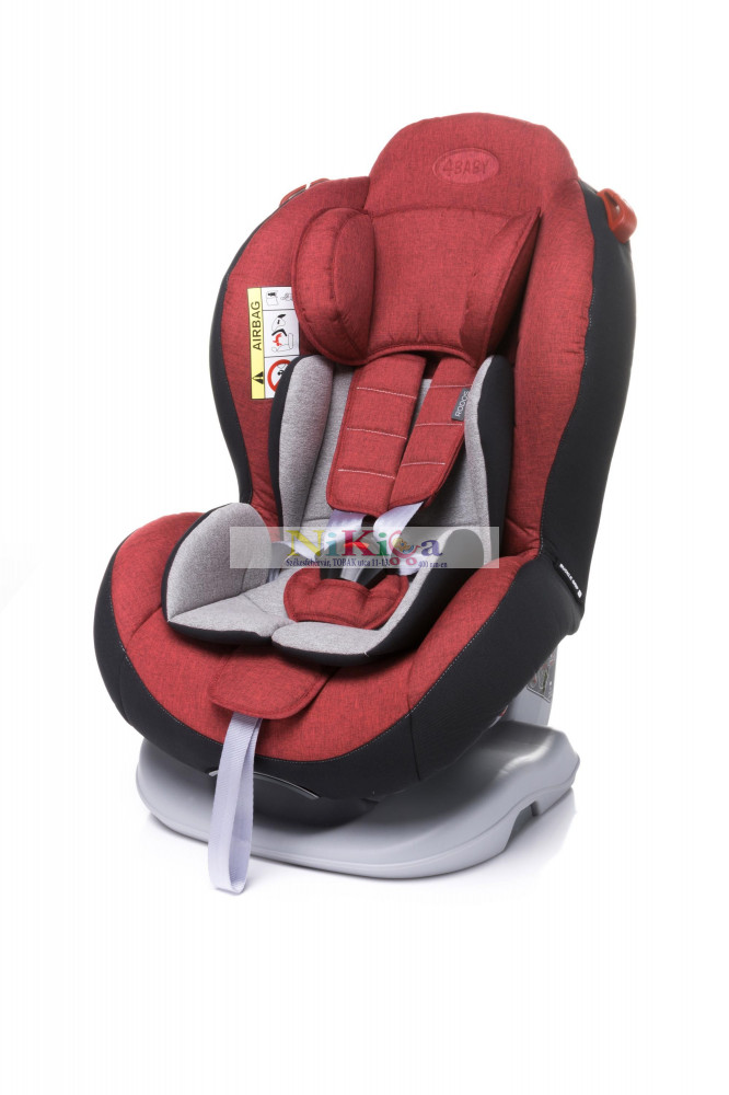 Image of 4baby RODOS 0-25 kg autósülés - red